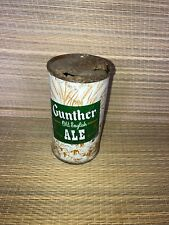 Gunther Old English Ale Flat Top Beer Can