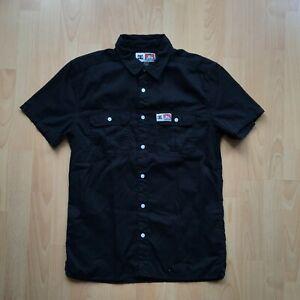 Ben Davis x DC Black Work Shirt Black Mens Medium Skate