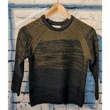 ZARA Boys Graduated Jacquard Knit Sweater Size 8 Years