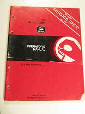 John Deere 1008 Rotary Cutter Omw28526 Operator'S Manual
