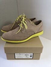 Cole Haan Shoes Size 8 B D38901 Lunargrand Mapl Sugar Lime Womens Suede Oxford