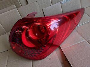 07-13 PEUGEOT 207sw ESTATE NS NEARSIDE PASSENGER SIDE REAR BACK LIGHT 9686566080