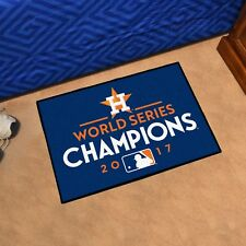 "Houston Astros 2017 World Series Champions 19"" X 30"" Starter Area Rug Floor Mat"