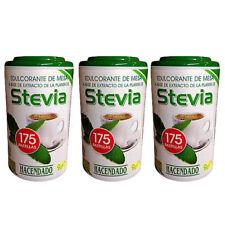 STEVIA SWEETENER, SUGAR SUBSTITUTE, SUITABLE F/ DIABETICS, 3 PACK (175 Tabs EA)