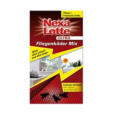 Nexa Lotte Ultra Fliegenköder Mix - Fliegenfalle Fleischfliegen Stubenfliegen