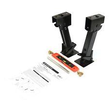 2 Stabilizer Jacks Folding Telescoping Set 1000 lb Rv Trailer Level & Handle Hw