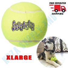 """Squeaker Tennis Ball AIR Dog Extra Large 4"""" Squeaky Toy XL Fetch Play Puppy KONG"""