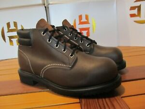 """Red Wing Shoes 8212 5"""" Supersole Steel Toe Leather Work Boot 8 3E biker engineer"""