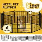 i.Pet 8 Panel Pet Dog Playpen Puppy Exercise Cage Enclosure Fence Cat Play Pen <br/> ✔Multi-configuration ✔Secure Lock system ✔