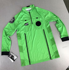 OFFICIAL SPORTS Brand USSF GREEN LongSleeve Soccer Referee Jersey New with Tags