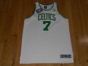 2005 Reebok AL JEFFERSON White BOSTON CELTICS NBA AUTHENTIC Auto Team JERSEY 48