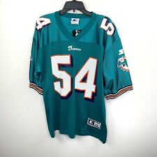 Authentic Zach Thomas Miami Dolphins Jersey, #54, STARTER size 46 / M Green NWT