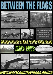 BETWEEN THE FLAGS - VINTAGE POINT TO POINT & NH HORSE RACING DVD