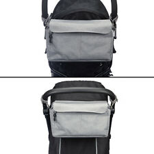 BTR XL Buggy Organiser Pram Caddy Storage Bag for Pushchairs with Phone Holder