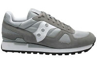 Saucony Men's Shoes Shadow Original 2108-524 Grey White Sneakers