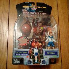 VERY-RARE Resident Evil 2: William Birkin & Sherry Action Figures TOYBIZ CAPCOM