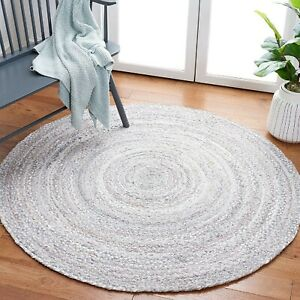 Rug Natural Cotton Handmade Reversible Braided carpet modern living area rug