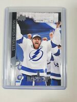 2020-21 Upper Deck Series 2 Day With The Cup Steven Stamkos SP DC-23 Lightning