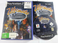 Ultimate Pro Pinball PS2 Playstation 2 MINT DISC