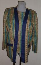 Blusenjacke mit langen Arm  neu Polyester Nr.4723