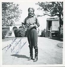 ANN SHERIDAN ACTRESS IN NORA PRENTISS SIGNED PHOTO AUTOGRAPH