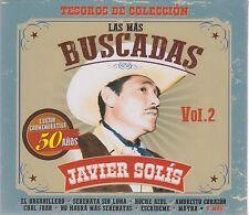 Las Mas Buscadas CD NEW Javier Solis Vol 2 SHIPPING NOW!