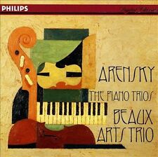 BEAUX ARTS TRIO - Arensky: Piano Trios - CD - **VG+ Condition** $11.99