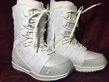 Snowboard boots Ladies/Girls Snowjam 540 Glacier White and Grey Size 6
