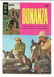 Bonanza #31, 10036-902 Gold Key 1969, Michael Landon, Lorne Greene 8.5 VF+
