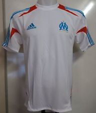 Olympic Marseille 2012/13 White Training Shirt by adidas Size 36/38 Inch Chest