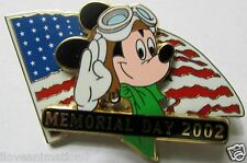 Disney WDW Memorial Day Mickey Mouse Pin **