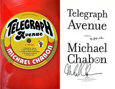 Michael Chabon~SIGNED & DATED~Telegraph Avenue~1st/1st HC + Photos!!