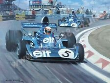 1973 Dutch Grand Prix - Zandvoort (Tyrrell Stewart & Cevert) door Michael Turner