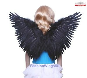 Heaven Hell Accessory Kit Halloween Costume Halo Feather Wings Cosplay Set