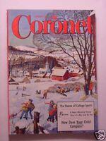 CORONET January 1956 HANK WILLIAMS JANE WYMAN JACQUES PREVERT LAS VEGAS DIVORCE