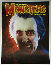 Famous Monsters of Filmland POSTER - CHRISTOPHER LEE DRACULA Elsey Cover art