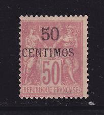 COLONIES FRANCAISES MAROC N°   6 * MLH neuf avec charnière, TB, cote: 110.00 €