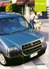 Fiat Doblo Estate 2003-04 UK Market Sales Brochure ELX SX 1.2 1.9D 1.9 JTD