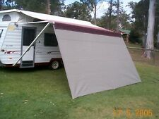 Shade Curtain/Privacy screen 1.8 x 4.0m (6x 13.1ft) for caravan Roll out Awning
