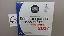 2017 8 monete 3,88 euro fdc FRANCIA BU France KMS Frankreich França ufficiale