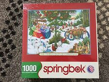 1000 piece The Twelve Days of Christmas - Springbok Puzzle (SEALED)