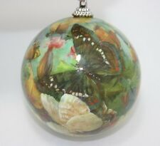 New Pier 1 Imports Large Spring Ball Easter Butterly & Floral Ornament Nwt