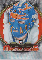 12-13 ITG Chico Resch /50 SILVER Masked Men 5 Between The Pipes Islanders 2012