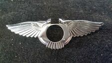 81 to 98 ROLLS ROYCE SILVER SPUR BENTLEY TURBO WING EMBLEM FOR  TRUNK LID