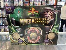 Bandai Mighty Morphin Power Rangers Legacy Morpher Green White Ranger 24k 189/