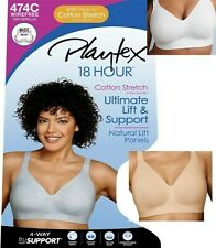 Women's Playtex 18 Hour Ultimate Lift & Support Wire-Free Cotton Bra 474C