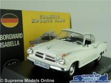 BORGWARD ISABELLA MODEL CAR 1:43 SCALE WHITE ATLAS NOREV CLASSIC SPORTS K8