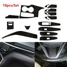 Fit For Toyota Camry 2018-2020 Carbon Fiber Car Interior Decor Kits Trim Sticker