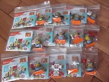Mega Bloks Despicable Me Series 11 Complete set of 12 Minions w/ Goat, Robot NEW