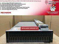 Dell PowerEdge R940 4x Platinum 8180 112 core 1.5TB RAM H740P 57.6TB Rack Server